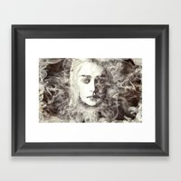 Bride Of Fire Framed Art Print