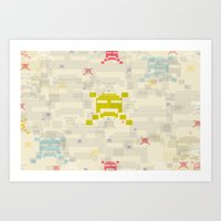 The Invaders! Art Print