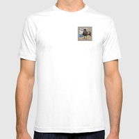 Portrait Of A Grumpy Gul… Mens Fitted Tee White SMALL