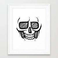 Boney Framed Art Print