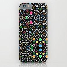 retro confetti Slim Case iPhone 6s