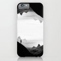 black wasteland isolation iPhone 6 Slim Case