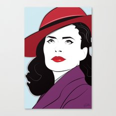 Nagel Style Carter Canvas Print