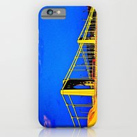 iPhone & iPod Case featuring The 3 Sisters Bridges by Biff Rendar