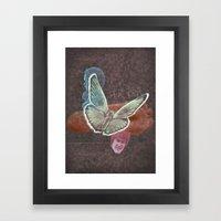 B For Balance Framed Art Print