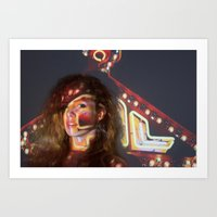 Nicole Hershdog No. 3 Art Print