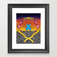 Encuentro Framed Art Print