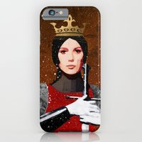 iPhone & iPod Case featuring Queen by Ed Pires