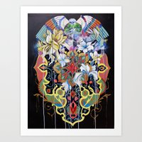 Forgotten Glory Art Print