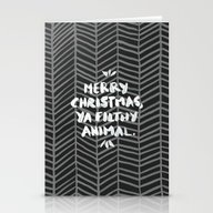 Merry Christmas, Ya Filt… Stationery Cards