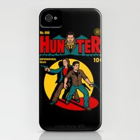 iPhone 4s & iPhone 4 Cases featuring Hunter Comic by harebrained