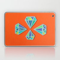 Diamonds Papercut Laptop & iPad Skin