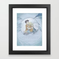 Siren Bay Framed Art Print