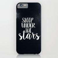 Sleep Under The Stars iPhone 6 Slim Case