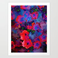 Ruby Red Vine Art Print