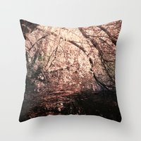 Light Reflected In Black… Throw Pillow