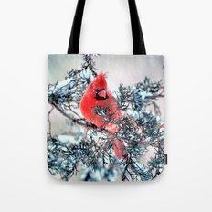 Valentine's Day Blizzard… Tote Bag