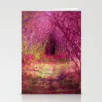 Into The Pink Stationery Cards