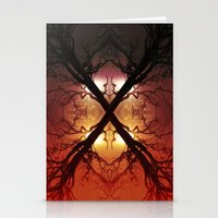 Quad Tree #1 Stationery Cards