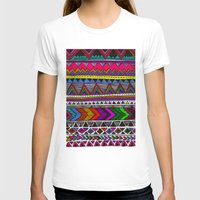 ▲PONCHO ▲ Womens Fitted Tee White SMALL