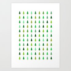 99 trees, none of them a problem Art Print