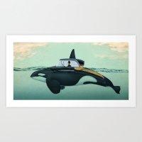 The Turnpike Cruiser of the sea Art Print