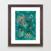 The Butterflies & The Be… Framed Art Print