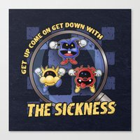 The Sickness Canvas Print