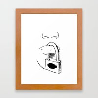Freedom of Expression 3 of 3 Framed Art Print