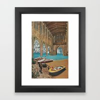 Place Of Worship (with D… Framed Art Print