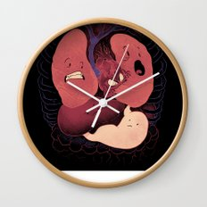 Heart Attack Wall Clock