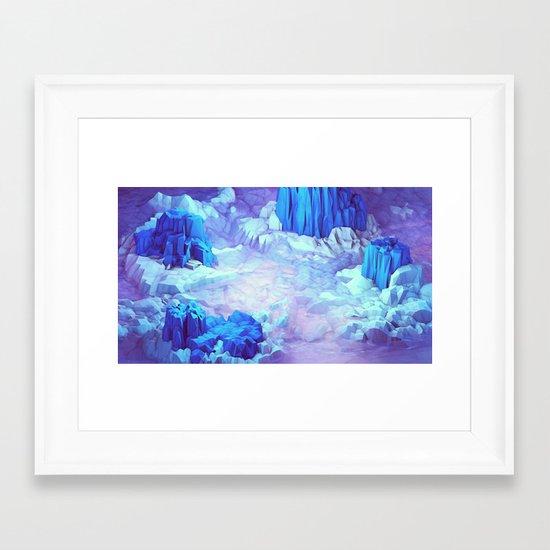 Nonsense Island Framed Art Print
