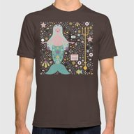 T-shirt featuring Mermaid In The Depths  by Carly Watts