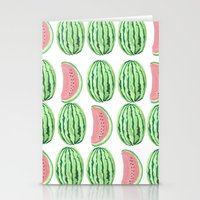 water melon works Stationery Cards
