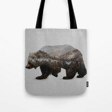 The Kodiak Brown Bear Tote Bag