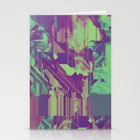 Glitchy 1 Stationery Cards