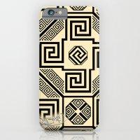 iPhone & iPod Case featuring Kagome Fret Lattice. by Sylvie Heasman