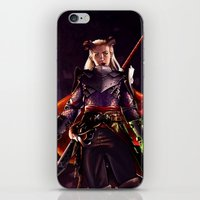 Dragon Age Inquisition - Eva the Qunari warrior iPhone & iPod Skin