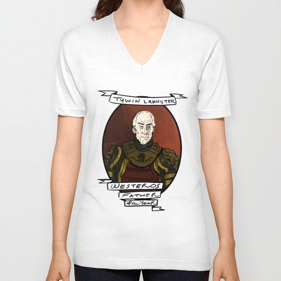 Best Mythical Dad V-neck T-shirt