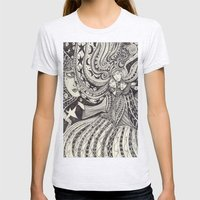 La Lune Womens Fitted Tee Ash Grey SMALL