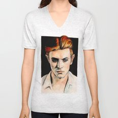 Thin White Duke Unisex V-Neck
