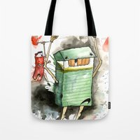 RUN! Tote Bag