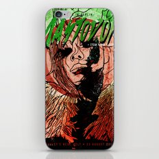 Mastodon Live in Berlin in Green and Red iPhone & iPod Skin
