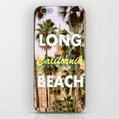 Long Beach, California V.R. iPhone & iPod Skin