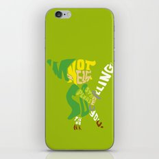 I'm not zelda, so please stop calling! thank you. iPhone & iPod Skin