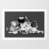 Picture of the Rings Art Print