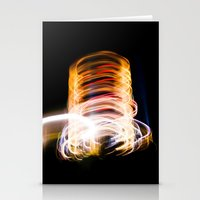 light me up Stationery Cards