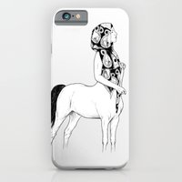iPhone & iPod Case featuring horses for courses I by Tom Kitchen