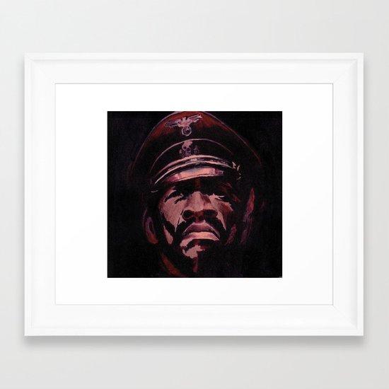 Black Gestapo Framed Art Print