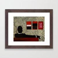 Mad Men - Art Print  Framed Art Print